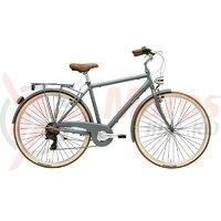 Bicicleta Adriatica Retro 28' Man 6s gri