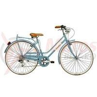 Bicicleta Adriatica Rondine 28 Lady 6V albastra