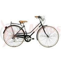 Bicicleta Adriatica Rondine 28 Lady 6V neagra