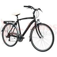 Bicicleta Adriatica Sity 3 Man 6v matt black