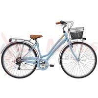 Bicicleta Adriatica Trend Lady 28 albastru mat