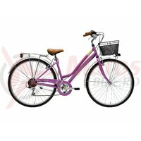 Bicicleta Adriatica Trend Lady 6s 28' purple