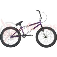 Bicicleta BMX Academy Entrant Freestyle 20' 2021 Dark Purple/Polished