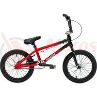 Bicicletă BMX Freestyle Colony Horizon 16' 2021 - Gloss Black/Red Fade