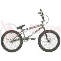 Bicicletă BMX Freestyle Division Blitzer 20' 2021 - Metal Grey/Polished