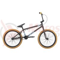 Bicicleta BMX HARO Downtown matte rootbeer 20.3 2018