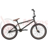 Bicicleta BMX HARO Leucadia DLX gri metalic 20.3 2018