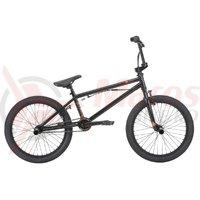 Bicicleta BMX HARO Leucadia DLX negru lucios 20.3 2018