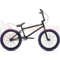Bicicleta BMX VERDE Eon 20 matt negru 20,5