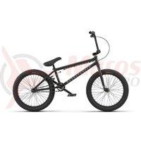Bicicleta BMX WTP Arcade 20.50TT 20 inch negru mat 2018