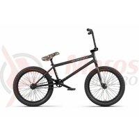 Bicicleta BMX WTP Crysis 21.0TT negru mat 20 inch 2020