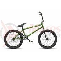 Bicicleta BMX WTP CRYSIS 21TT 20 inch Translucent Olive 2019