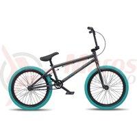 Bicicleta BMX WTP Curse 20.25TT 20 inch antracit/gri mat
