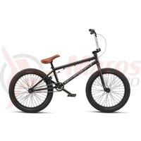 Bicicleta BMX WTP Curse 20.25TT 20 inch negru mat