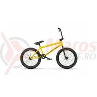 Bicicleta BMX WTP JUSTICE 20, 20.75TT matt taxi yellow 2021