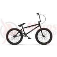 Bicicleta BMX WTP Justice 20.75TT 20 inch neagra 2018