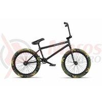 Bicicleta BMX WTP Justice 20.75TT negru mat 20 inch 2020