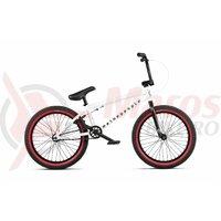 Bicicleta BMX WTP Nova 20.0TT alb mat 20 inch 2020