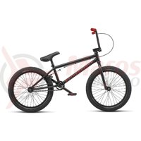 Bicicleta BMX WTP Nova 20TT 20 inch negru mat 2019
