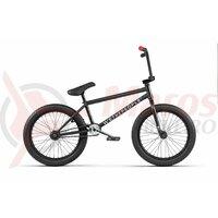 Bicicleta BMX WTP reason 20.75TT negru mat 20 inch 2020