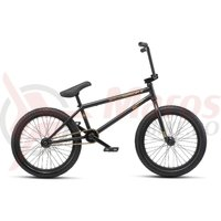 Bicicleta BMX WTP Reason 20.75TT 20 inch negru mat 2019