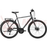 Bicicleta Cannondale Tesoro 2 Charcoal Gray, with Sage Gray- reflective decal 2020