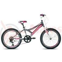 Bicicleta Capriolo 20 Diavolo 200 graphite-pink