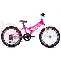 Bicicleta Capriolo 20 Diavolo 200 light pink-violet-white