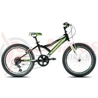 Bicicleta Capriolo 20 Diavolo 200 negru/verde