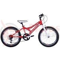 Bicicleta Capriolo 20 Diavolo 200 white-red-silver