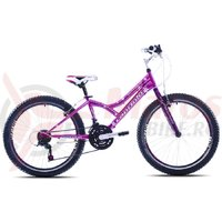 Bicicleta Capriolo 24 Diavolo 400 pink-black