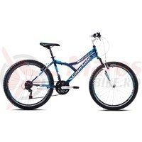 Bicicleta Capriolo 26 Diavolo 600 FS black-blue