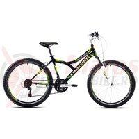 Bicicleta Capriolo 26 Diavolo 600 FS black-green