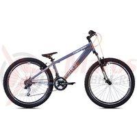 Bicicleta Capriolo Fireball 26 grey-orange