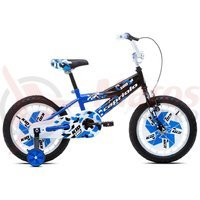Bicicleta Capriolo Kid Boy blue-black-white 16