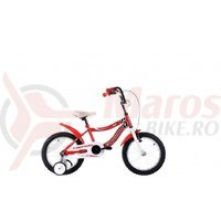 Bicicleta Capriolo Kid Girl red 16