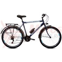 Bicicleta Capriolo Metropolis Man 26 gray-blue
