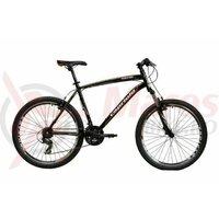 Bicicleta Capriolo Monitor FS Amort Black/Orange 20