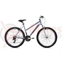 Bicicleta Capriolo Monitor FS Lady 26 graphite-violet
