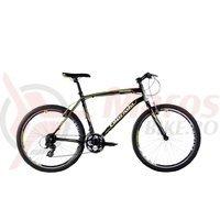 Bicicleta Capriolo Monitor Man black-neon green