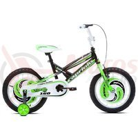 Bicicleta Capriolo Mustang black-green-white 16