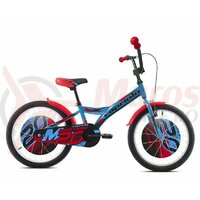 """Bicicleta Capriolo Mustang Blue Black Red 20"""""""