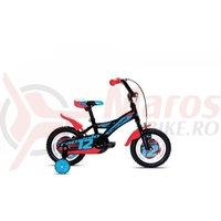 Bicicleta Capriolo Mustang blue-white 12