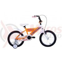 Bicicleta Capriolo Mustang white-orange 16