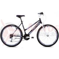 Bicicleta Capriolo Passion Lady black-purple