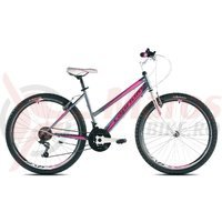Bicicleta Capriolo Passion Lady graphite-pink