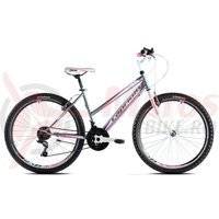 Bicicleta Capriolo Passion Lady grey-white-pink