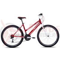 Bicicleta Capriolo Passion Lady white-red-silver