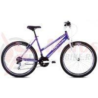 Bicicleta Capriolo Passion Lady white-violet-blue
