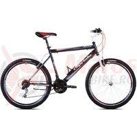 Bicicleta Capriolo Passion Man alb/negru/rosu